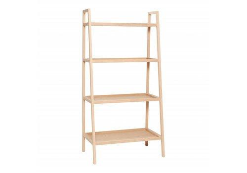 Hübsch Hübsch shelving unit w/4 shelves, oak, nat