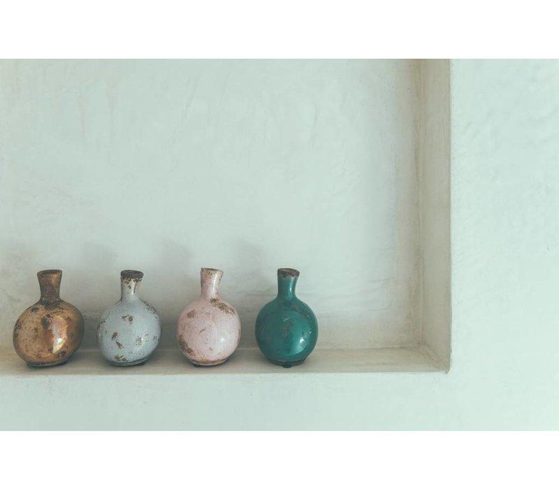 Serax vaasjes bolvorm in keramiek