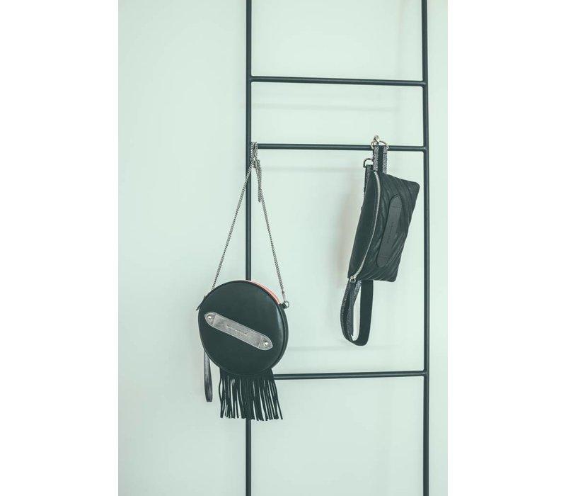 Marie Martens HAVANA Black Disk Bag