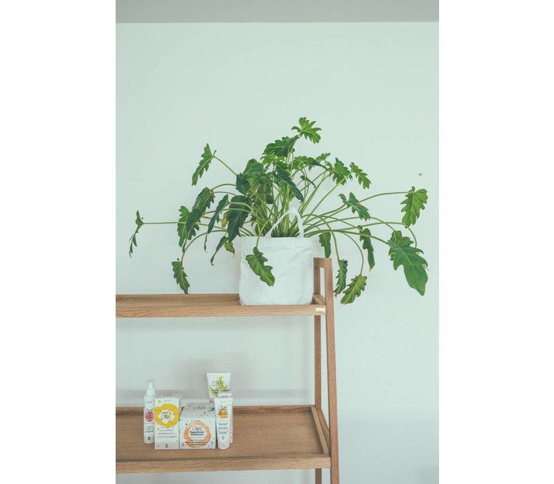 Hübsch shelving unit w/4 shelves, oak, nat