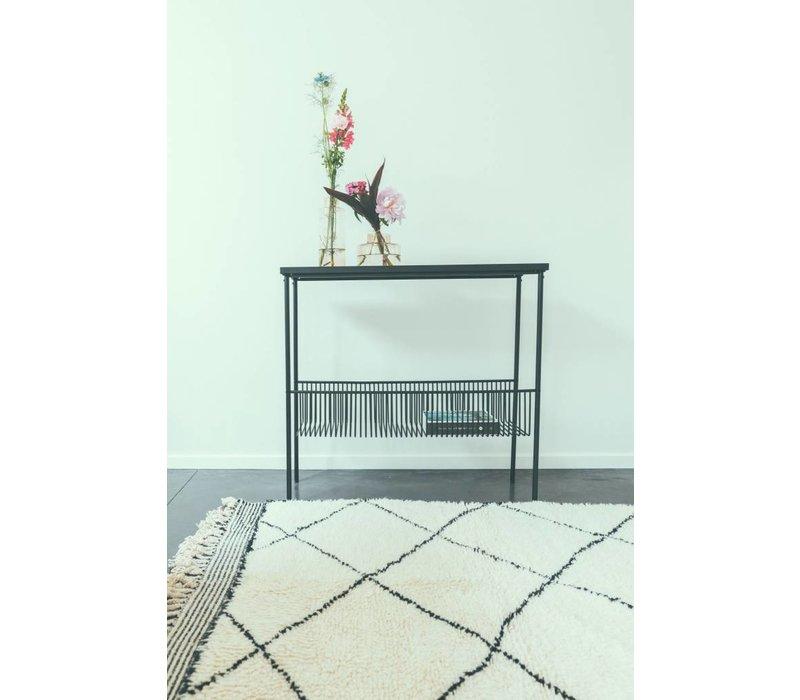 Hübsch Console Table - Metal - black