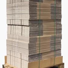 Pallet standaard autolock verhuisdozen 320 stuks