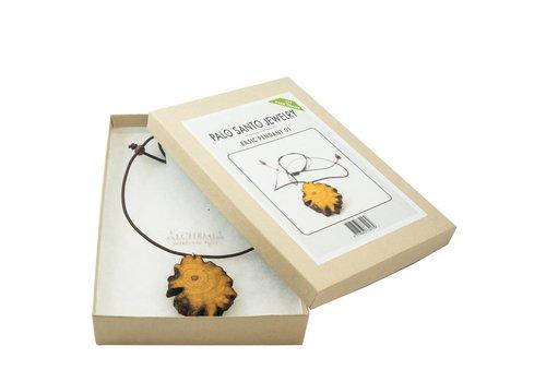Basic Pendant NR. 001 - Palo Santo Jewelry