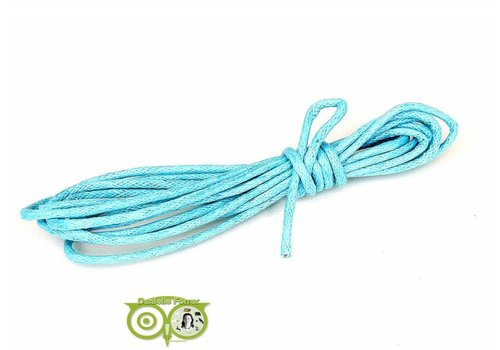 Waxkoord 1.5 mm Light-Aquamarine-Blue 1,2 mtr.