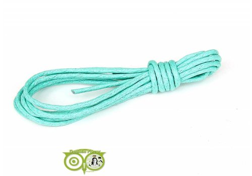 Waxkoord 1.5 mm Turquoise-Mint 1,2 mtr.