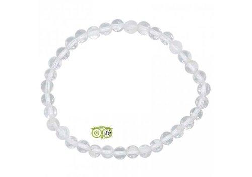 Armband bergkristal - 19 cm