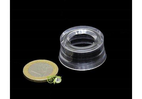 Transparante standaard  Voetje - 3 cm