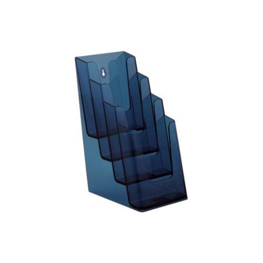 Folderhouder meervoudig 1/3 A4 4 vaks klein