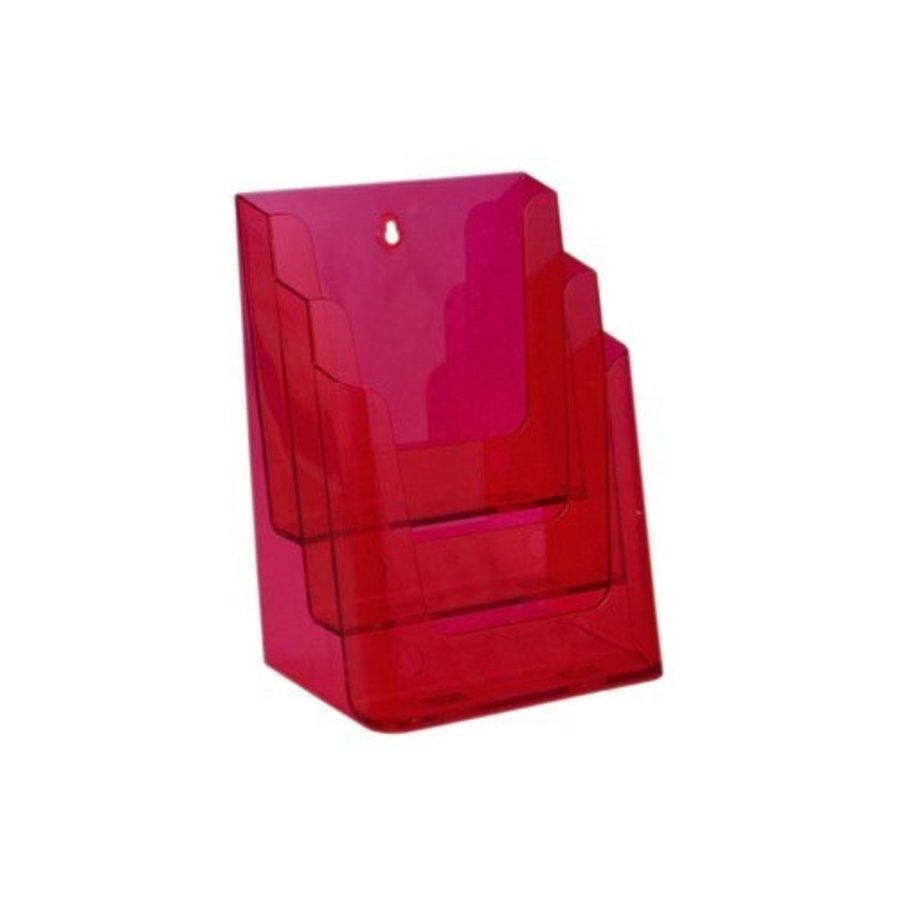 Folderhouder A4 meervoudig 3 vaks
