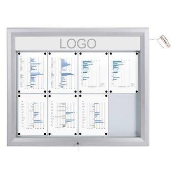 Binnen/buiten Vitrine LED verlicht