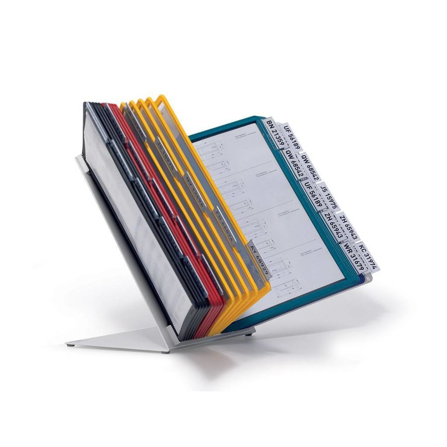 Bureaustandaard Vario A4 tafelmodule div.kleuren 30