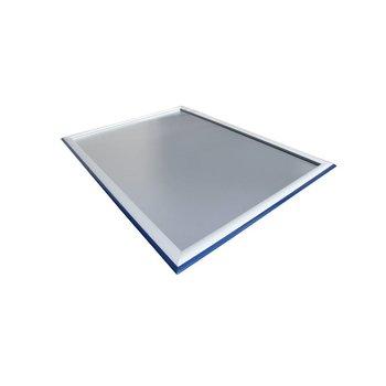 Kliklijst A1 aluminium/blauw RAL-5003 BiColor