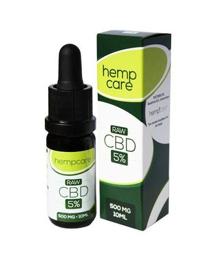 Hempcare Hempcare RAW CBD Oil 5% 30ml