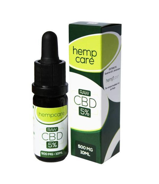Hempcare Hempcare RAW CBD Olie 5% 30ml