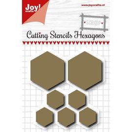 Joy!Crafts Scrap Snijstencil - Hexagons
