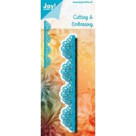 Joy!Crafts Snijstencil -Noor! - Blauwe sierrand