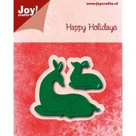 Joy!Crafts Snij-embosstencils - HH - Hertjes