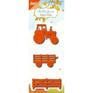 Joy!Crafts Snij-embosstencil - At the farm - Tractor