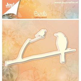 Joy!Crafts Snijstencil - Vogels op tak