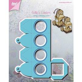 Joy!Crafts Snij- en embos stencil - lantaarn rond raam Bille
