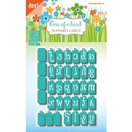 Joy!Crafts Snijstencils - One of a kind - Alfabet-labels