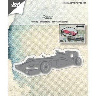 Joy!Crafts Snij-embos-debosstencil - F1 wagen