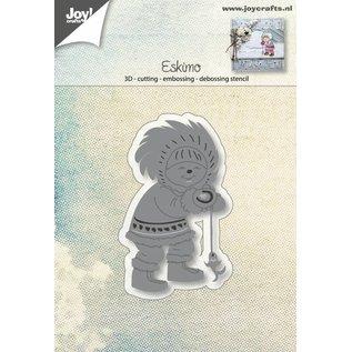 Joy!Crafts Snij-embos-debosstencil - Eskimo