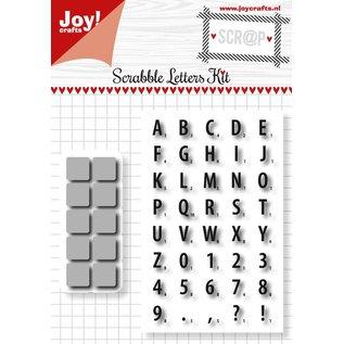 Joy!Crafts Scrap Snijstencil en Stempel - Scrabble