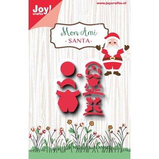 Joy!Crafts Snijstencil - Mon Ami - Kerstman