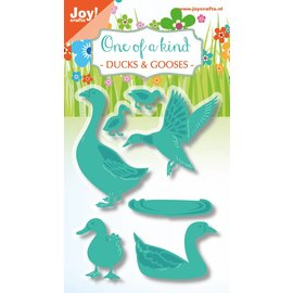 Joy!Crafts Snij-embosstencils - Eend en gans