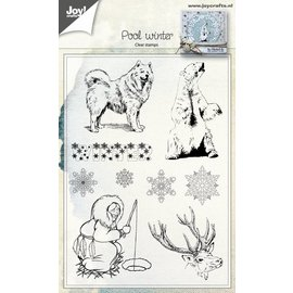 Joy!Crafts Clear Stempel - Poolwinter