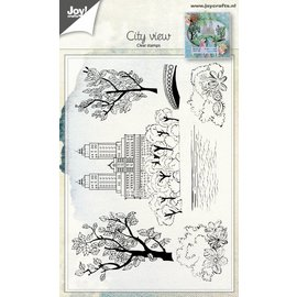 Joy!Crafts Clear stempel - Stadsgezicht