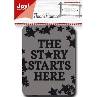 Joy!Crafts Scr@p stempel - sterren