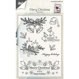 Joy!Crafts Clear stempel - Kerst hulst