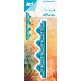 Joy!Crafts Snij-embosstencil - Rand volant