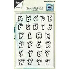 Joy!Crafts Stempel - Sneeuw Alfabet