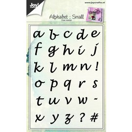 Joy!Crafts Clearstamp - Alfabet Kleine letters