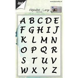Joy!Crafts Clear stempel - Alfabet Hoofdletters