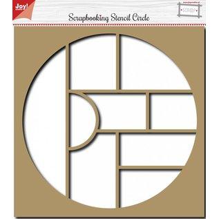 Joy!Crafts Scrapbooking Stencil Circle