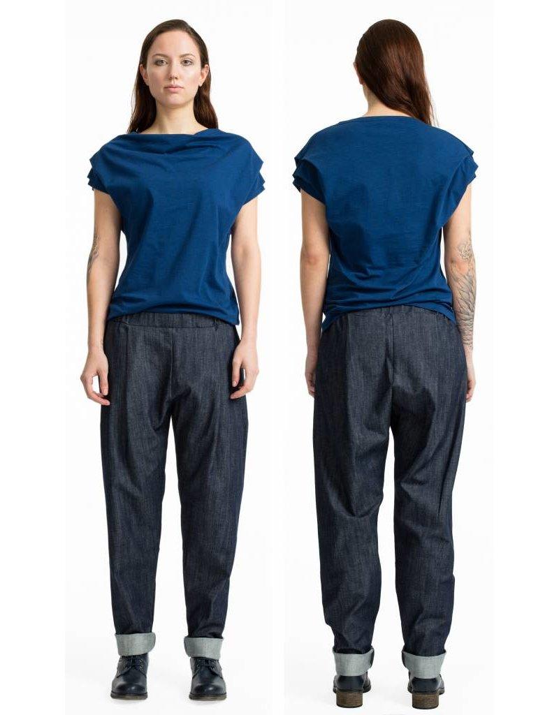 format COSY II pants, denim