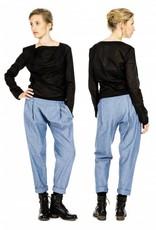 format COSY II pants, light denim