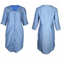 format ILSE dress, light denim