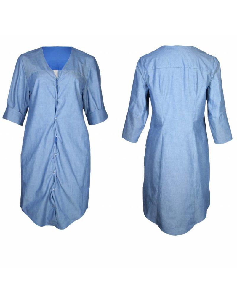 format ILSE dress, light denim