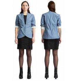 format TURN jacket, light denim