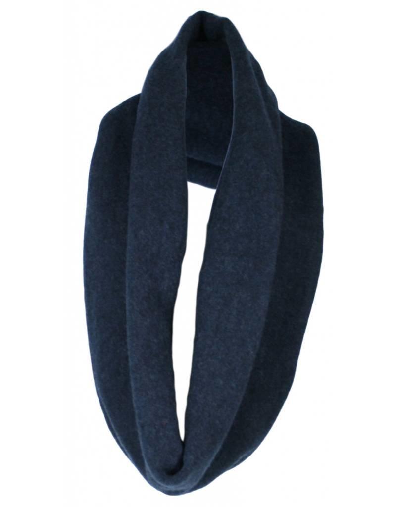 format TUBE scarf, wool fleece
