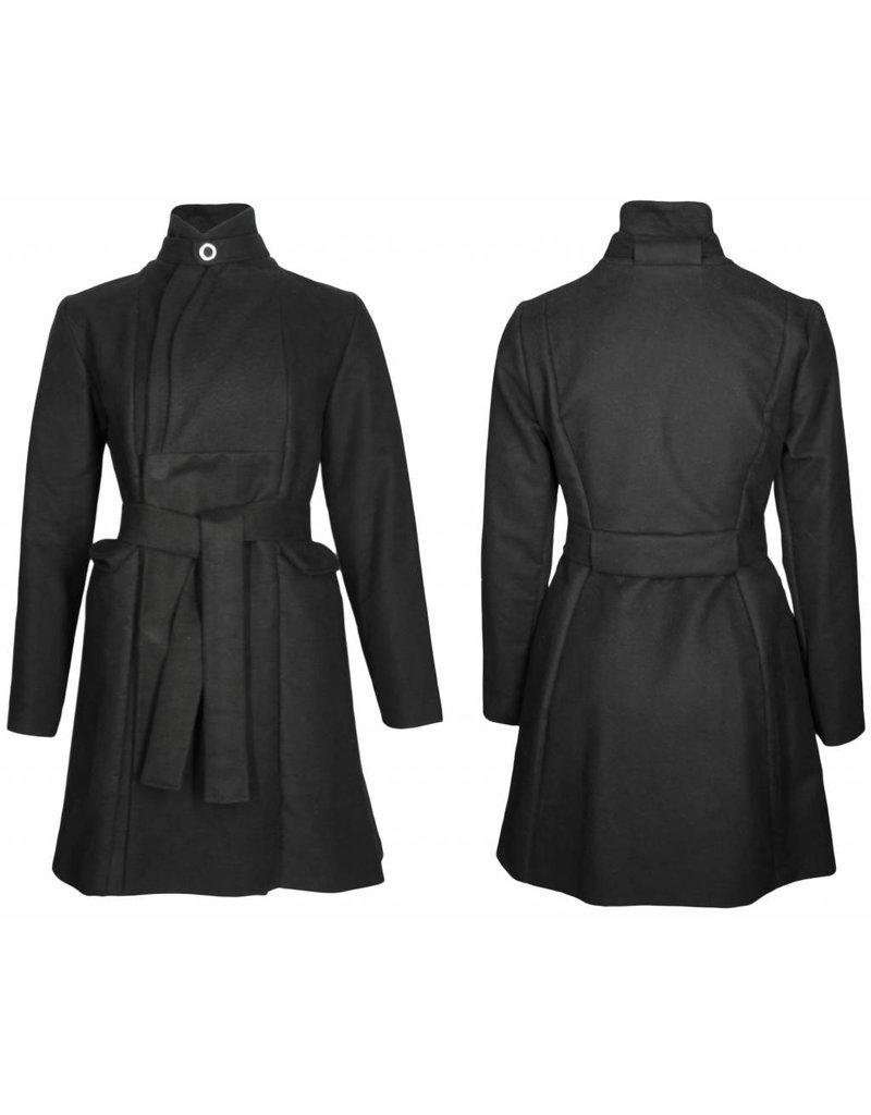 format ROOM coat, moleskin