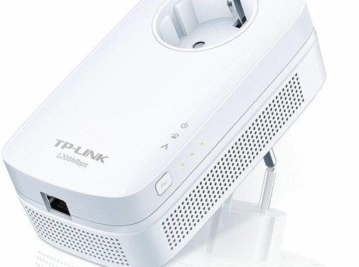 TP-Link TP-LINK TL-PA8010P AV1200 Gigabit Powerline Adapter ideal for HDTV